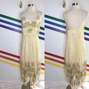 NEW UO handkerchief hem floral dress